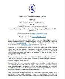 BCLA2016 Third CFP - PDF