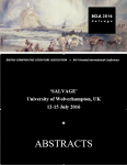 BCLA Abstracts Cover